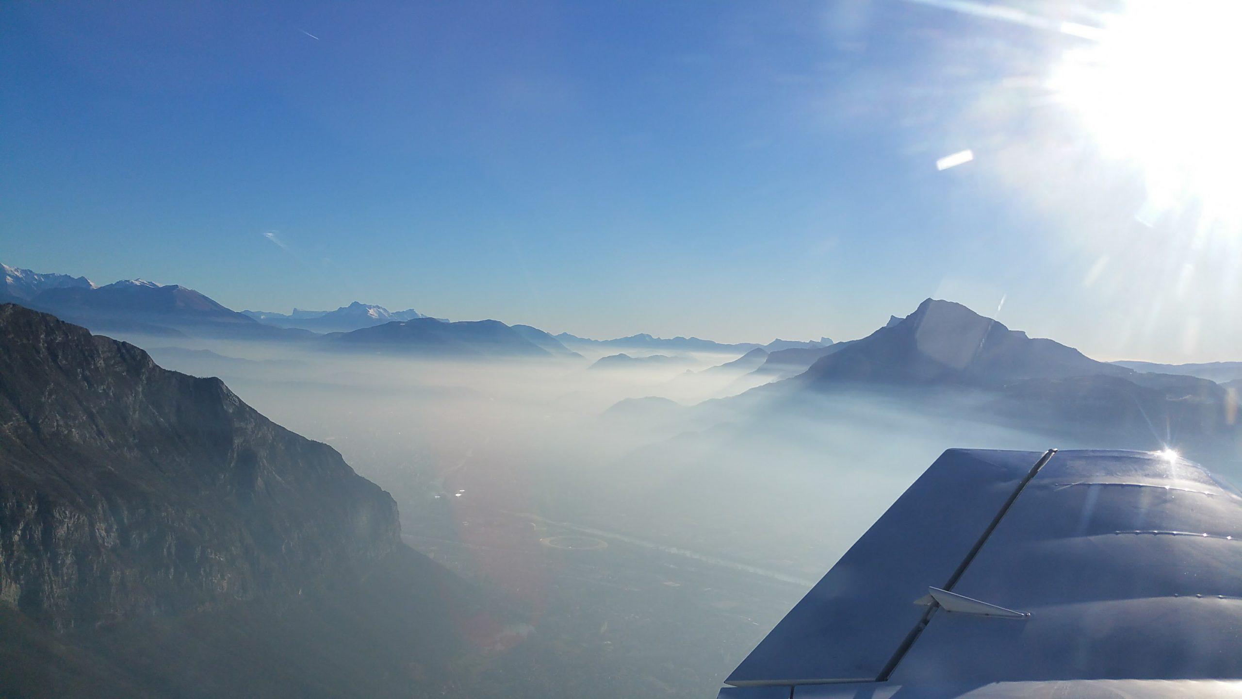 formation pilotage avion grenoble et baptemes de l'air à Grenoble