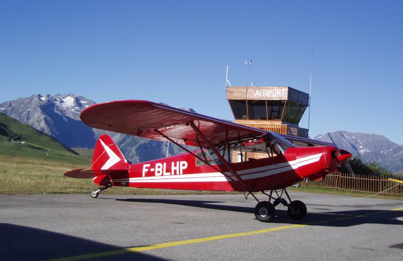 Vol montagne - pilotage avion