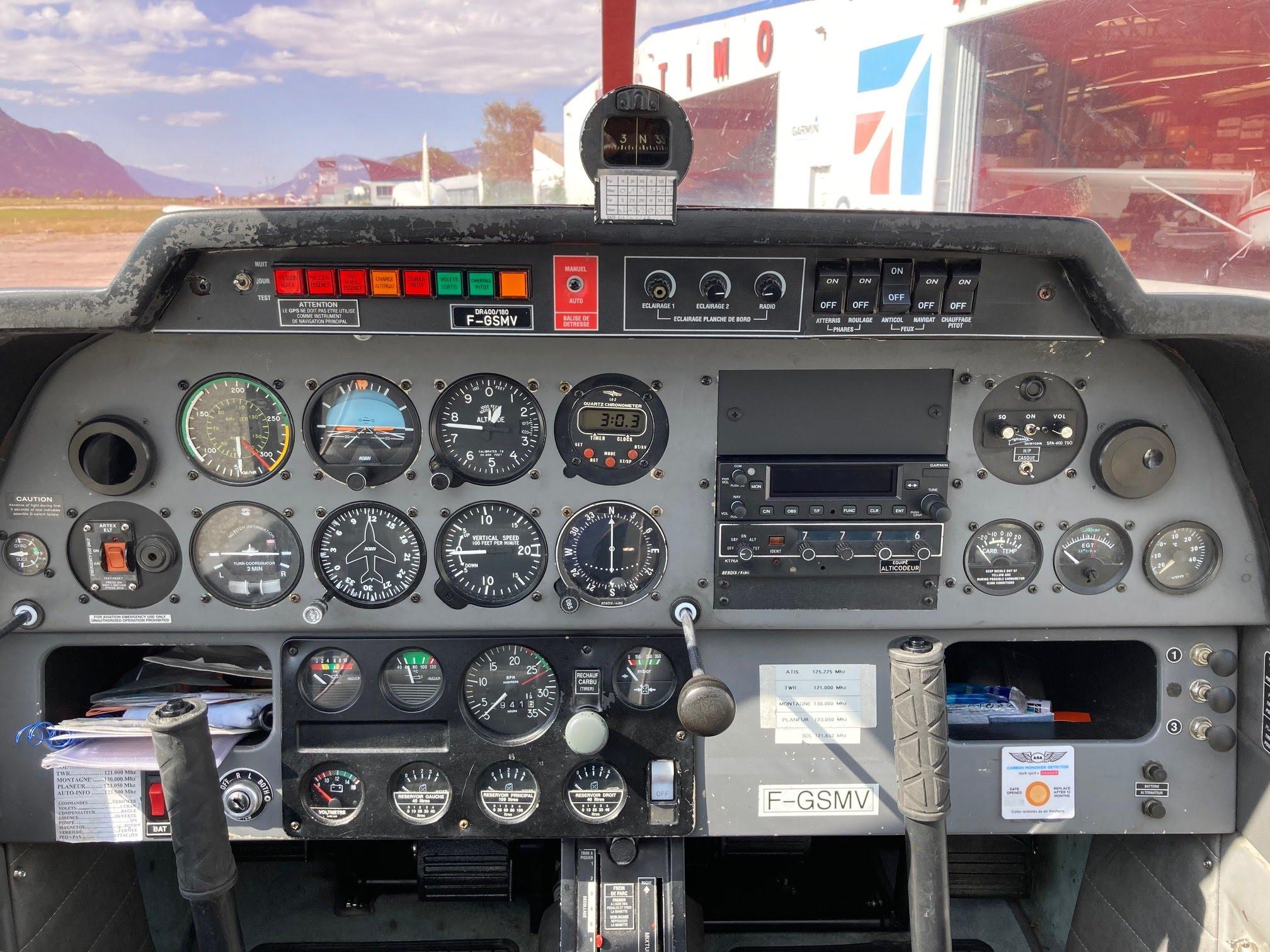 apprendre à piloter un avion à grenoble