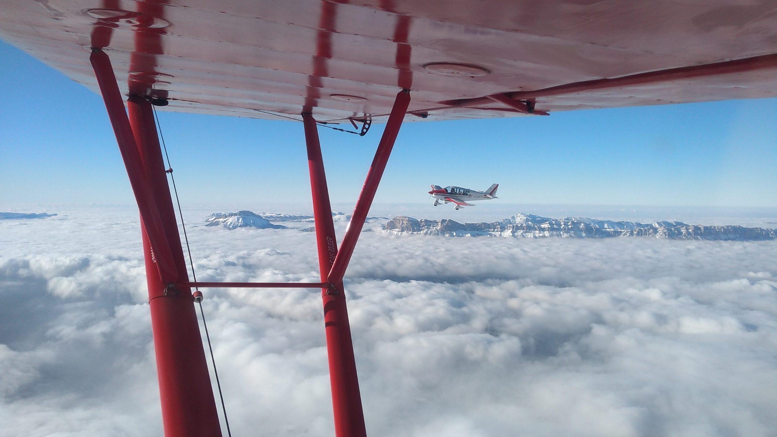 Vol avion, formation, baptemes de l'air à Grenoble